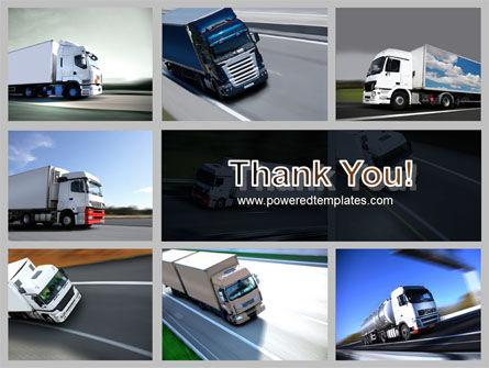 Trailer Trucks PowerPoint Template Slide 20