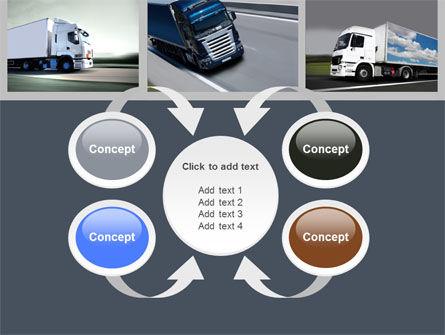 Trailer Trucks PowerPoint Template Slide 6
