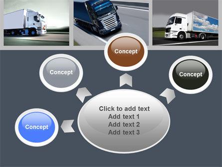 Trailer Trucks PowerPoint Template Slide 7