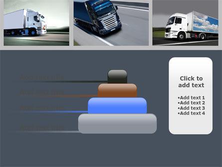 Trailer Trucks PowerPoint Template Slide 8