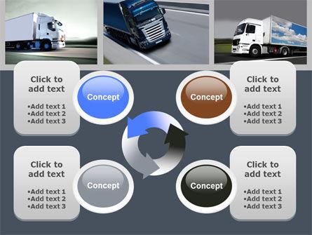 Trailer Trucks PowerPoint Template Slide 9