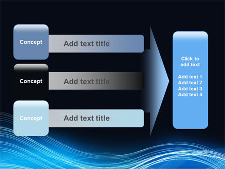 Blue Wave PowerPoint Template Slide 12