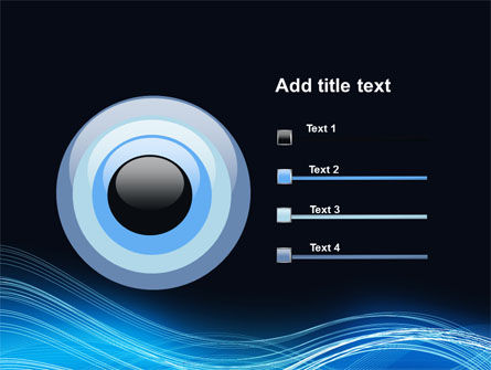 Blue Wave PowerPoint Template Slide 9