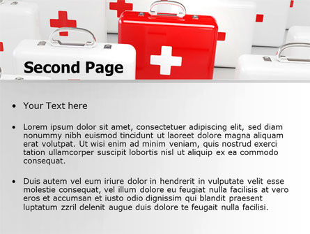 Emergency Medicine Chest PowerPoint Template, Slide 2, 06925, Medical — PoweredTemplate.com