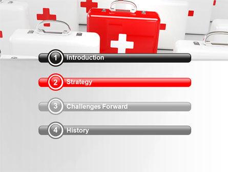 Emergency Medicine Chest PowerPoint Template, Slide 3, 06925, Medical — PoweredTemplate.com