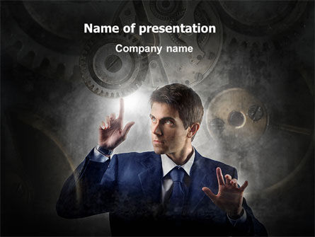 Technology and Science: Business Administration PowerPoint Template #06927