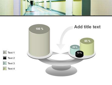Hospital Hallway PowerPoint Template Slide 10
