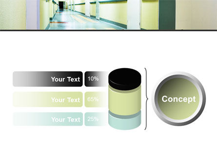 Hospital Hallway PowerPoint Template Slide 11