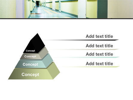 Hospital Hallway PowerPoint Template Slide 12