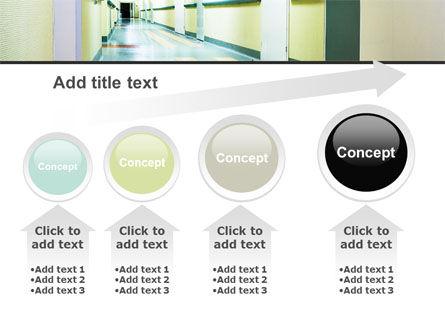 Hospital Hallway PowerPoint Template Slide 13
