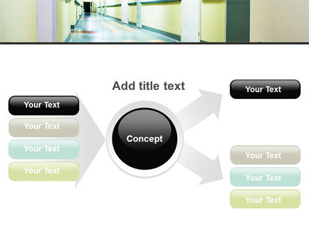 Hospital Hallway PowerPoint Template Slide 14
