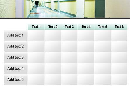 Hospital Hallway PowerPoint Template Slide 15