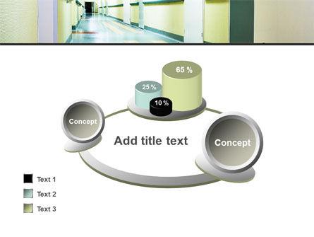 Hospital Hallway PowerPoint Template Slide 16