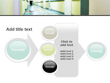 Hospital Hallway PowerPoint Template Slide 17