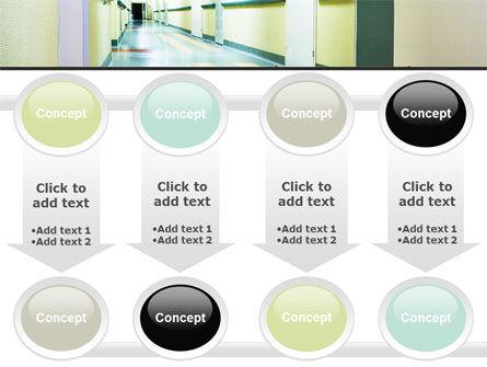 Hospital Hallway PowerPoint Template Slide 18