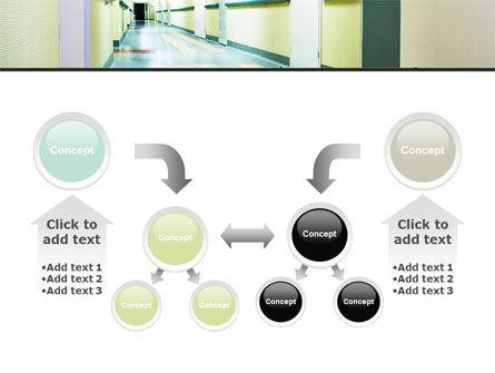 Hospital Hallway PowerPoint Template Slide 19