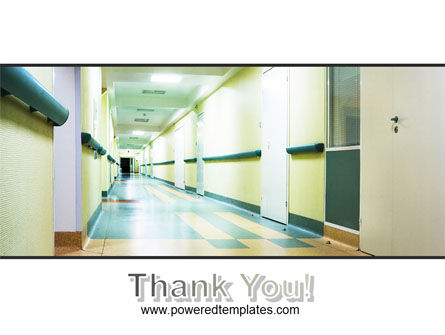 Hospital Hallway PowerPoint Template Slide 20