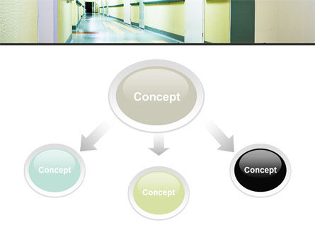 Hospital Hallway PowerPoint Template, Slide 4, 06928, Medical — PoweredTemplate.com