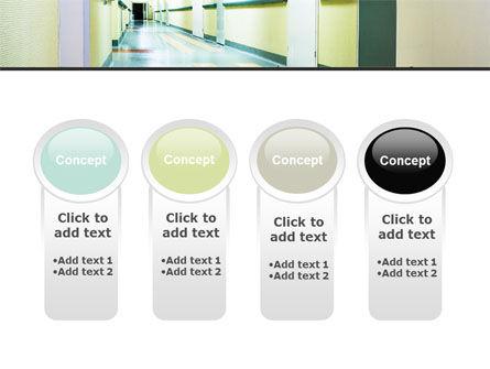 Hospital Hallway PowerPoint Template Slide 5