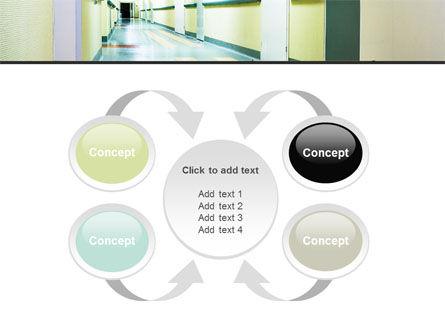 Hospital Hallway PowerPoint Template Slide 6