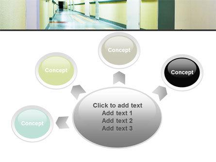 Hospital Hallway PowerPoint Template Slide 7