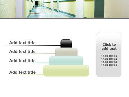 Hospital Hallway PowerPoint Template Slide 8