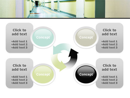 Hospital Hallway PowerPoint Template Slide 9