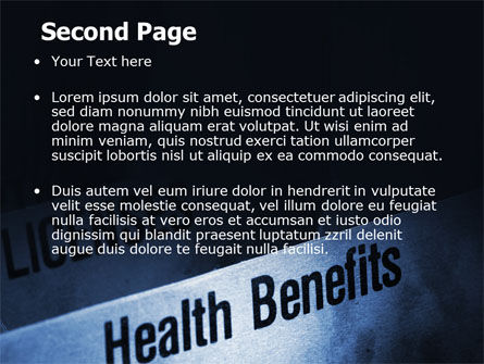 Health Benefits PowerPoint Template Slide 2