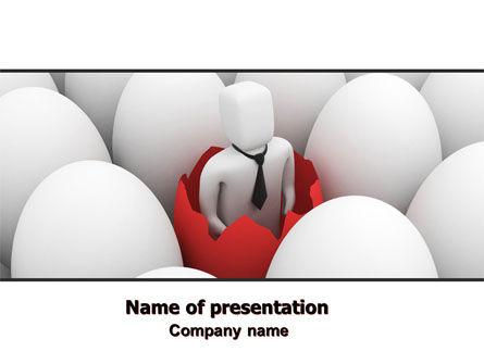 Business Start PowerPoint Template