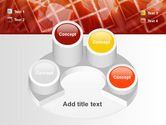 World Overview In Red Yellow Palette PowerPoint Template#12