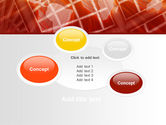 World Overview In Red Yellow Palette PowerPoint Template#16