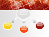 World Overview In Red Yellow Palette PowerPoint Template#4