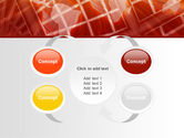 World Overview In Red Yellow Palette PowerPoint Template#6