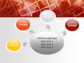 World Overview In Red Yellow Palette PowerPoint Template#7