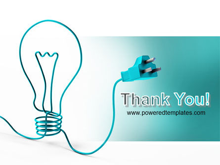 Electric Light Bulb PowerPoint Template Slide 20