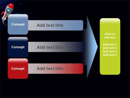 Cartoon Rocket PowerPoint Template Slide 12