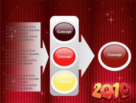N 2010 Yr PowerPoint Template Slide 11