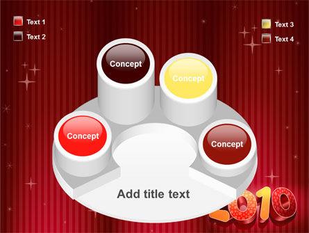 N 2010 Yr PowerPoint Template Slide 12