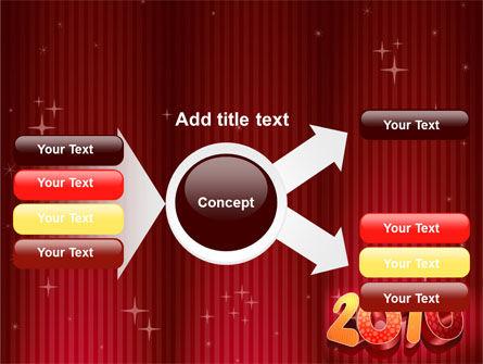 N 2010 Yr PowerPoint Template Slide 14