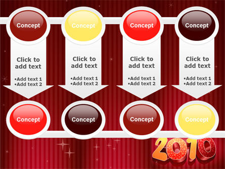 N 2010 Yr PowerPoint Template Slide 18