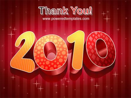 N 2010 Yr PowerPoint Template Slide 20