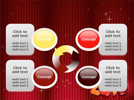 N 2010 Yr PowerPoint Template Slide 9