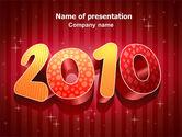 N 2010 Yr PowerPoint Template#1