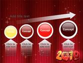 N 2010 Yr PowerPoint Template#13