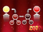 N 2010 Yr PowerPoint Template#19