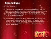 N 2010 Yr PowerPoint Template#2