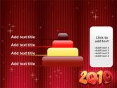 N 2010 Yr PowerPoint Template#8