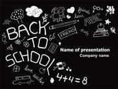 Education & Training: School Blackboard PowerPoint Template #06944