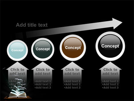 Flying Pages PowerPoint Template Slide 13