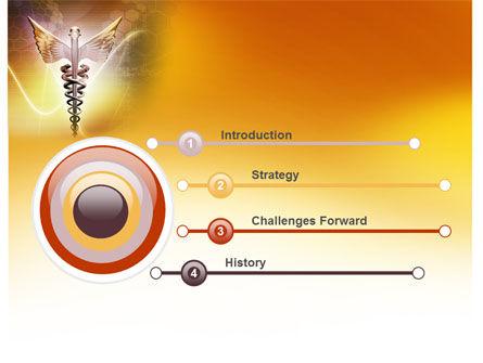 Caduceus PowerPoint Template, Slide 3, 06948, Medical — PoweredTemplate.com